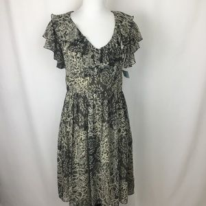 Suzy Chin for Maggy Boutique Lace Pattern Dress